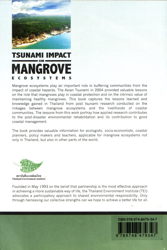 Tsunami Impact on Mangrove Ecosystems - rückseite
